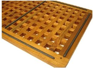 common teak is equipped with a yellow brown color and superior textures and grains when exposed to an outside environment that is sunlight and