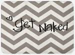 Get naked bathroom décor