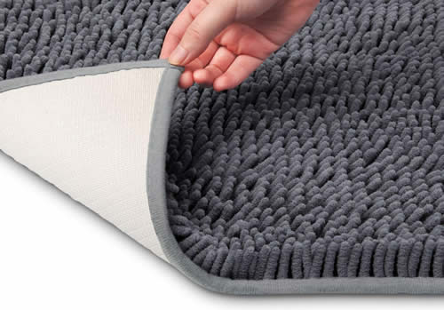 How to Dry Bath Mat With Rubber Backing?